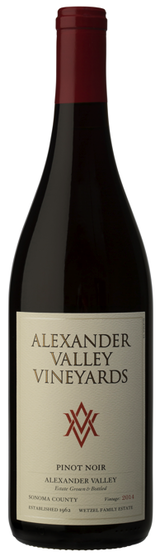 Alexander Valley Vineyards Estate Pinot Noir 2014