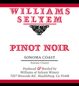 Williams Selyem Sonoma Coast Pinot Noir
