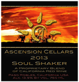 Ascension Cellars Soul Shaker Proprietary Red 2013