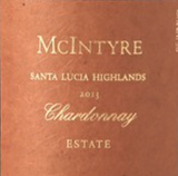McIntyre Vineyards Estate Chardonnay 2013