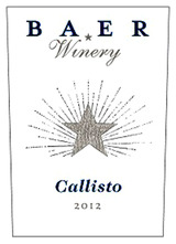 Baer Winery Callisto 2012