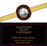 Alexander Valley Vineyards Alexander School Reserve Cabernet Sauvignon 2013