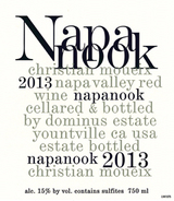 Napanook Red Wine 2013