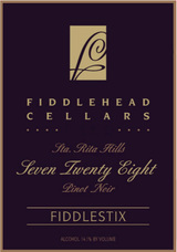 Fiddlehead Cellars Seven Twenty Eight Pinot Noir