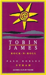 Tobin James Rock 'N Roll Syrah 2012