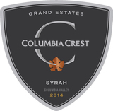 Columbia Crest Grand Estates Syrah 2014