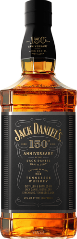 Jack Daniel's 150th Anniversary Tennessee Whiskey 86 Proof