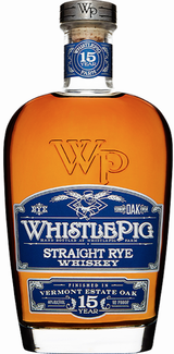 WhistlePig Straight Rye Whiskey 15 year old