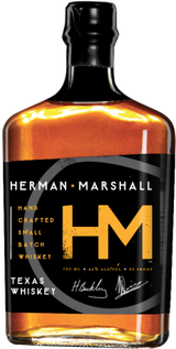 Herman Marshall Texas Small Batch Single Malt Whiskey