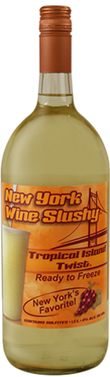 Thousand Islands New York Wine Slushy Tropical Island Twist