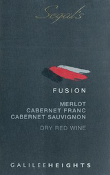 Segal's Fusion Red Wine 2014