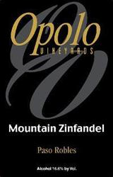 Opolo Mountain Zinfandel 2014