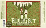 Uinta Brewing Company Birthday Suit 23rd Anniversary Sour Raspberry Ale