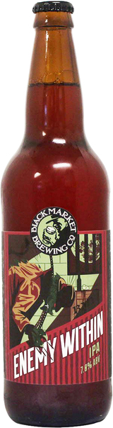 Black Market Brewing Company Enemy Within IPA