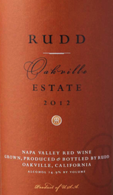Rudd Oakville Estate Proprietary Red 2012