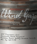 Wind Gap Fanucchi-Wood Road Vineyard Trousseau Gris 2015