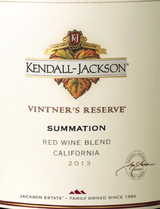 Kendall Jackson Vintner's Reserve Summation Red 2013