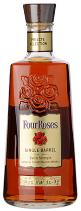 Four Roses Private Selection Single Barrel Cask Strength Bourbon
