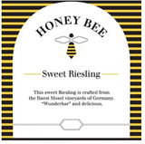 Honey Bee Sweet Riesling 2015