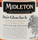 Midleton Dair Ghaelach Grinsell's Wood Single Pot Still Irish Whiskey