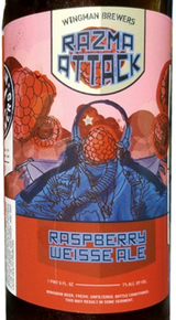 Wingman Brewers Razma Attack Raspberry Weisse Ale
