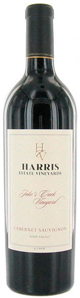 Harris Estate Jake's Creek Vineyard Cabernet Sauvignon 2009