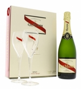 G. H. Mumm & Cie. Cordon Rouge Brut With Two Flutes