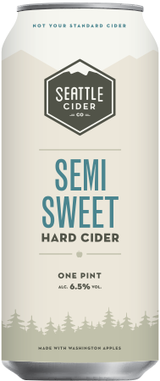 Seattle Cider Company Semi-Sweet Hard Cider