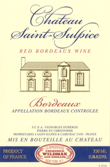 Chateau Saint-Sulpice Bordeaux 2014