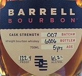 Barrell Bourbon Batch 007