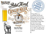 Root Sellers Pedal Hard Ginger Beer