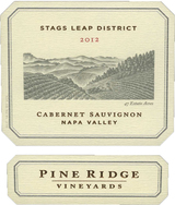 Pine Ridge Stags Leap District Cabernet Sauvignon 2012