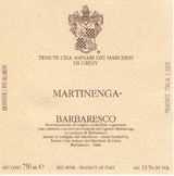 Marchesi di Gresy Barbaresco Martinenga 2001