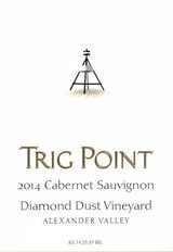Trig Point Diamond Dust Vineyard Cabernet Sauvignon 2014
