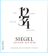 Vina Siegel  1234 Reserva Red 2013