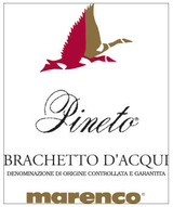 Marenco Brachetto d'Acqui Pineto 2015