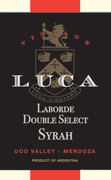 Luca Laborde Double Select Syrah 2012