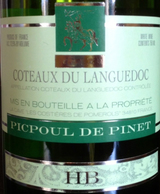 Hugues Beaulieu Picpoul de Pinet 2015