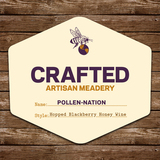 Crafted Artisan Meadery Pollen Nation Mead