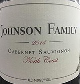 Johnson Family North Coast Cabernet Sauvignon 2014