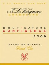 J. L. Vergnon Confidence Grand Cru Brut Nature 2009
