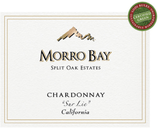 Morro Bay Split Oak Vineyard Sur Lie Chardonnay 2015