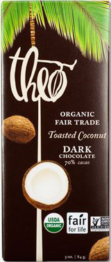 Theo Coconut Toasted Bar