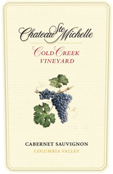 Chateau Ste. Michelle Cold Creek Cabernet Sauvignon 2013