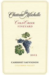 Chateau Ste. Michelle Cold Creek Cabernet Sauvignon 2012