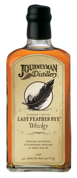 Journeyman Distillery Last Feather Rye Whiskey