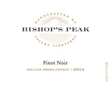 Bishop's Peak Pinot Noir 2014