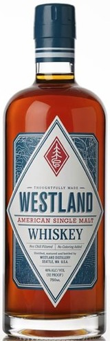Westland Distillery American Single Malt Whiskey