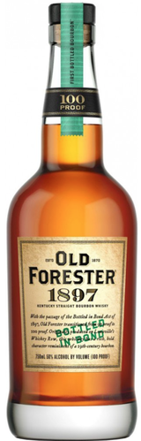 Old Forester 1897 Bottled In Bond Kentucky Straight Bourbon Whiskey