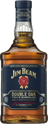 Jim Beam Double Oak Twice Barreled Kentucky Straight Bourbon Whiskey